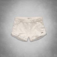 A&F High Rise Sequin Shorts