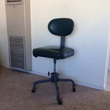 vintage industrial office chair