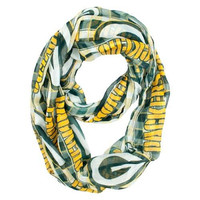 Green Bay Packers Infinity Scarf - Plaid
