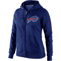 Nike Buffalo Bills Women's Tailgater Full Zip Hoodie - Royal Blue