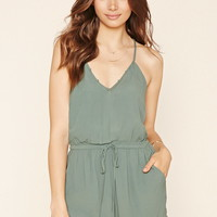 Contemporary Strappy Romper | Forever 21 - 2000222114
