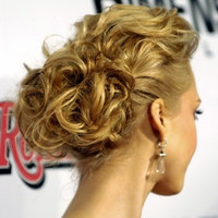 wavy updo hairstyles