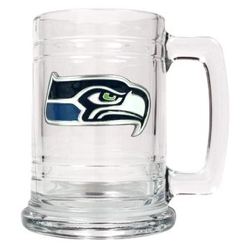 Personalized NFL Emblem Mug - Seattle Seahawks