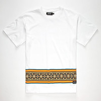 Rook Clique Mens T-Shirt White  In Sizes