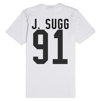 joe sugg-Unisex White T-Shirt