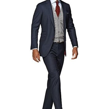 Suit Blue Birds Eye Sienna P2445i | Suitsupply Online Store