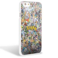 All Charakter Pokemon for Iphone and Samsung Galaxy Case (iPhone 6 White)
