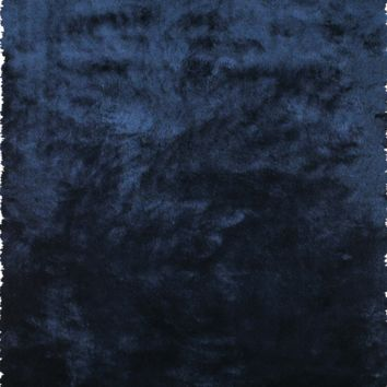 Indochine Shag Rug | Dark Blue