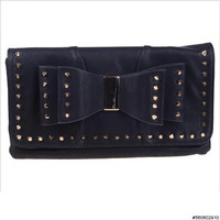 Spiked Bow Clutch | Avant-Garde Boutique