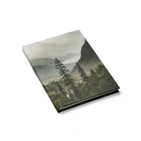 Colorado Mountain Valley - 128 Page Hardcover Lined Journal