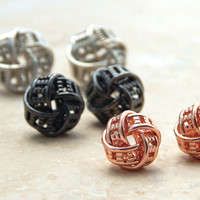 The Knotted Earring Set
