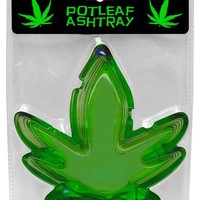 1 X Pot Leaf Ashtray