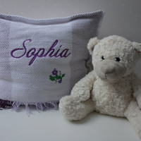 Baby room decor, Name pillow Sophia, Decorative Pillows, Pillow covers, personalized pillows, cottage decor pillow, decorative pillow sets,