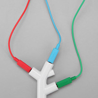 Urban Outfitters - Music Branches Headphone Splitter