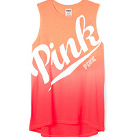 High/Low Muscle Tank - PINK - Victoria's Secret