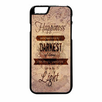 Harry Potter Quote Marauders Map iPhone 6 Plus Case