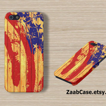 USA Flag iPhone Case , American Flag iPhone 5 Case , Wooden iPhone 5 Case , iPhone Case : iPhone Case , Samsung Galaxy S3 Case , S4 Case