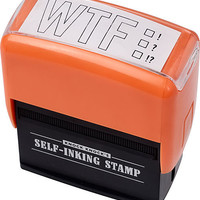 Office Supplies - WTF Stamp - Paper Source