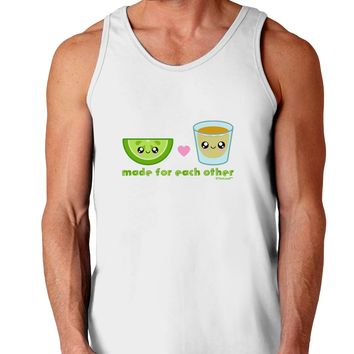 Cute Tequila Shot and Lime - Made For Each Other Loose Tank Top  by TooLoud
