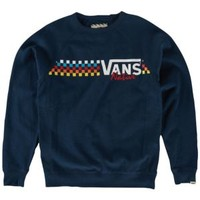 Vans Native Check Crew Neck Sweatshirt - Men's at CCS