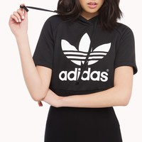 ShopAKIRA | Adidas | Crop Top Sweatshirt | cute, hoodie, athleticwear - AKIRA