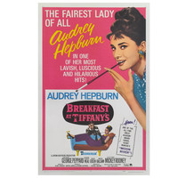 """Breakfast At Tiffany's"" US Movie Poster"