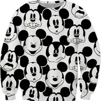 Mickey Mouse Expressions Pullover
