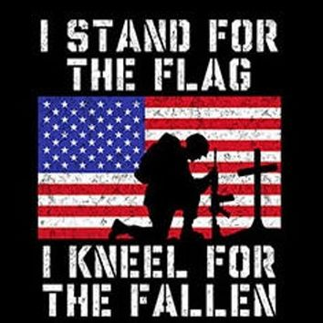 marines patriotic army t-shirt i stand for the flag i kneel FOR THE FALLEN hoodie usa flag hooded cool sweatshirts hoodies hoody