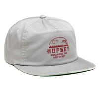 HUF - KEEP IT WET SNAPBACK // GRAY