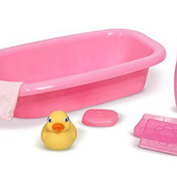 Melissa & Doug Mine to Love Doll Bathtub Set