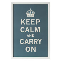 Keep Calm and Carry On - Shop Our Framed Posters & More Art | Z Gallerie