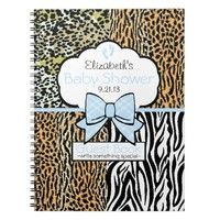 Safari Baby Shower Guest Book-