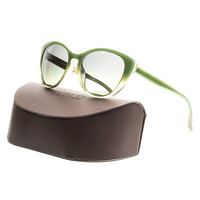 Oliver Peoples Sunglasses OV5239S 1371/T4 55 Haley Green Sage Gradient Polarized