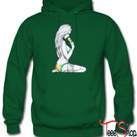 eating ice cream gir hoodie