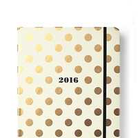 Kate Spade 2016 17-Month Large Agenda- Gold Dots Gold Dots ONE