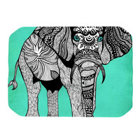 "Pom Graphic Design ""Elephant of Namibia Color"" Place Mat"