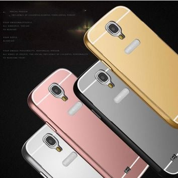 Mirror Acrylic Back Cover Case for Samsung Galaxy Phone