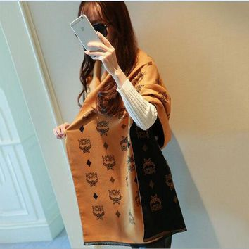 VONESC6 lady scarves poncho 2017 flowers and letters winter scarf women printed cashmere scarf luxury brand shawls and scarves pashmina