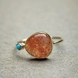 Dream Collective for Free People Womens Sunstone Slice Ring