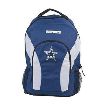 NFL Dallas Cowboys Backpack NFL DraftDay Navy School Backpack 18""