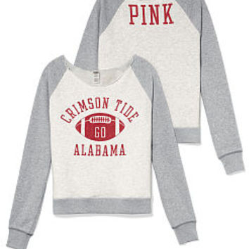 University of Alabama Slouchy Crew - PINK - Victoria's Secret