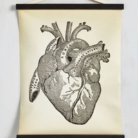 Vintage Inspired Means the World to Anatomy Wall Hanging by ModCloth