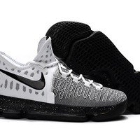 Nike KD 9 White/Gray Cheap Shoes Online