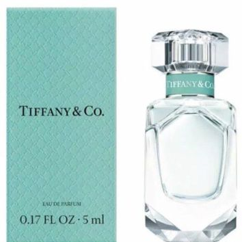 TIFFANY & CO. for Women Perfume 0.17oz/5ml Eau de Parfum EDP Mini