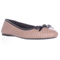 MICHAEL Michael Kors Melody Quilted Ballet Flats - Dusty Rose