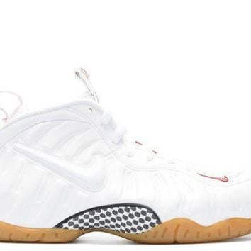 Air Jordan Foamposite 'White Gucci/ Winter White'