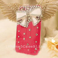 iPhone case, iPhone 4 Case, iPhone 4s Case, Cute iPhone 4s Case, Cute iphone 4 case, iphone 4 case bow, iphone 4s bow case, iPhone 5 Case