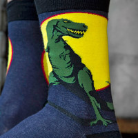 Socks by Sock Dreams » .Socks » Midcalves » T Rex Midcalf