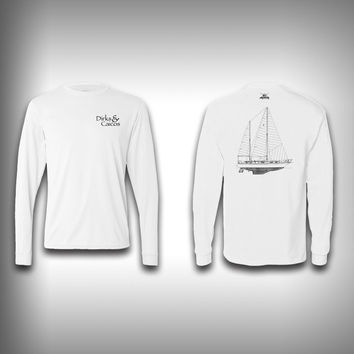 Dirks and Caicos Solar Long Sleeve Shirts