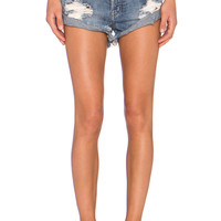 One Teaspoon Bandits Jean Short in Husk